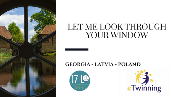 "Projekt eTwinning  ""Let me look through your window"""