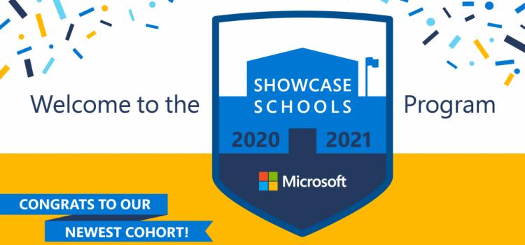 Microsoft Showcase School 2020 – 2021