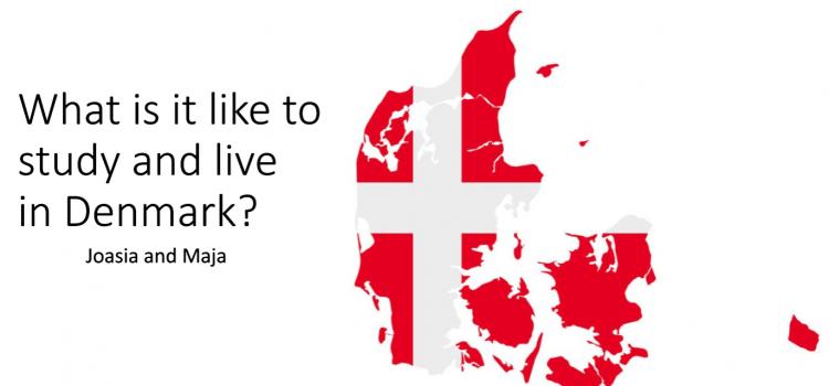 Nasza Absolwentka opowiada o studiach w Danii – spotkanie z klasą 2a