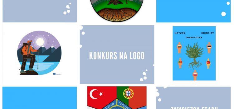 """I etap konkursu na logo szkolnego projektu Erasmus+ """"Nature, traditions and identity in youth's vision"""" dobiegł końca."""