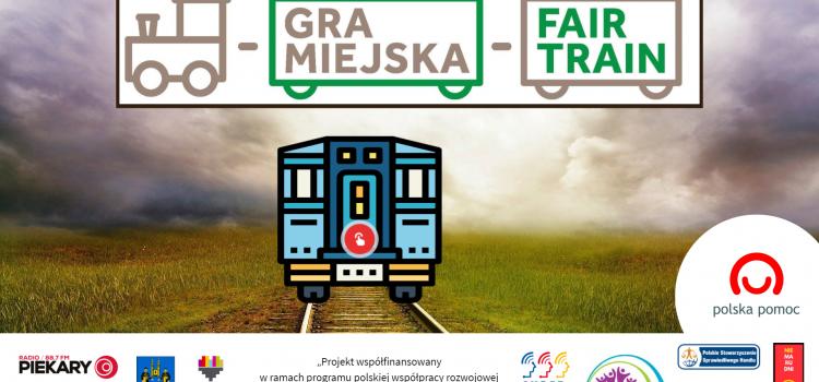 """Gra miejska  """"Fair Train"""" w ramach Tygodnia Edukacji Globalnej"""