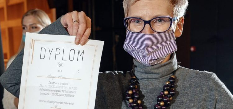 """Pani Anna Klein w projekcie Teatru Szekspirowskiego """"Teatr i Edukacja"""""""